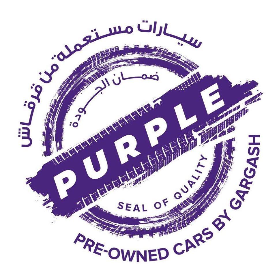 PURPLE - Pre-Owned Cars GARGASH MOTORS & GENERAL TRADING LLC SZR
