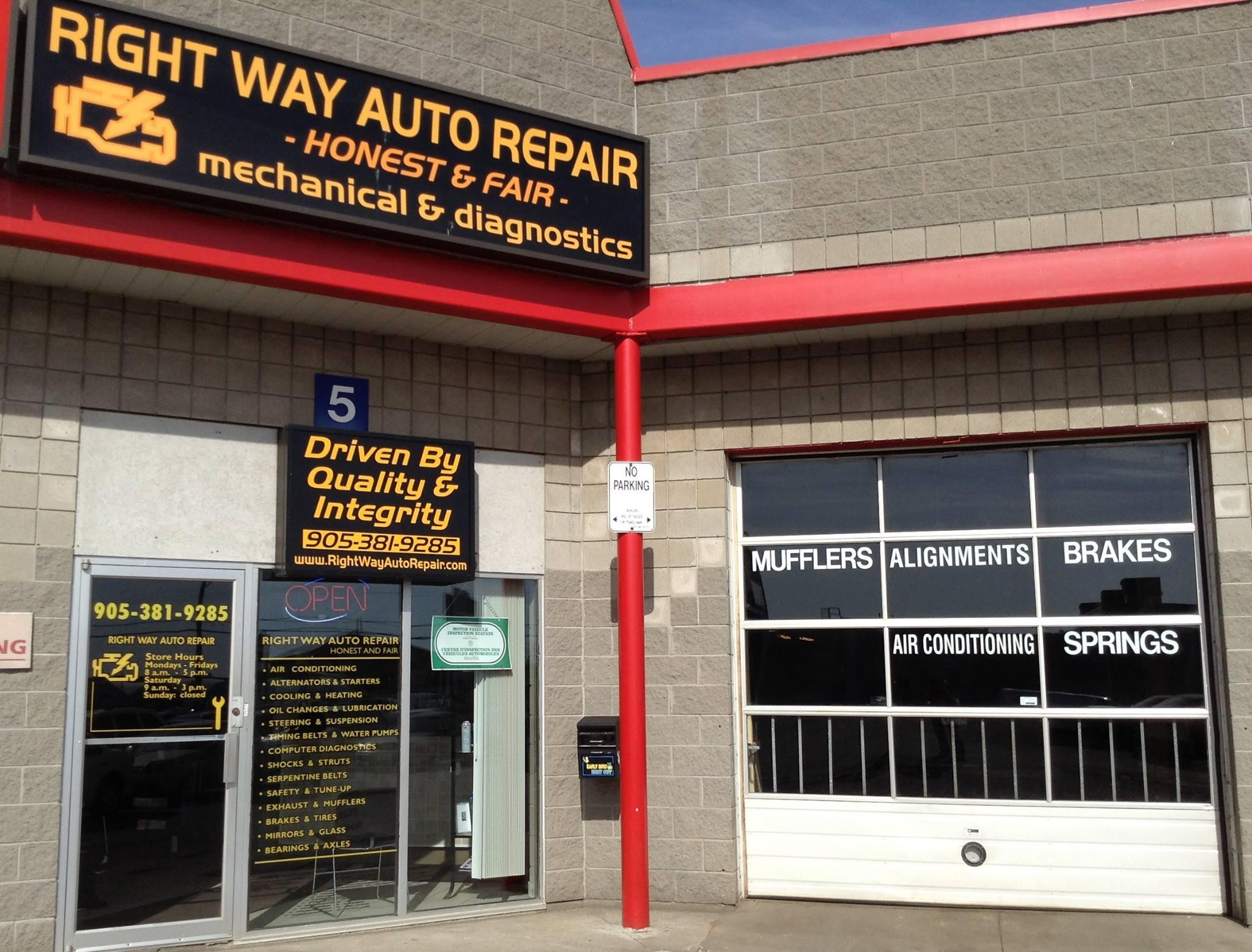 Right Way Auto Repair Hamilton, Canada