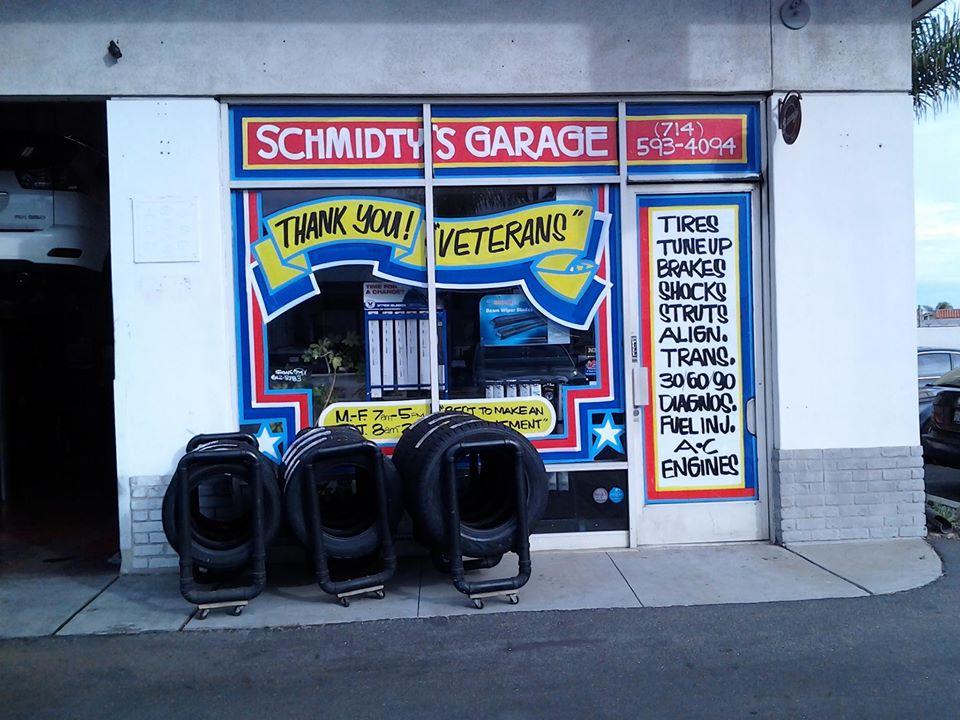 Schmidty's Garage Huntington Beach, California